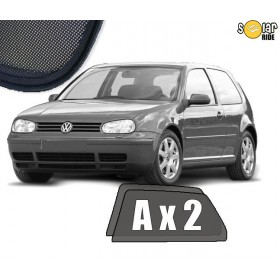 Přesné protisluneční clony, sluneční clony - VW Volkswagen GOLF 4   3p