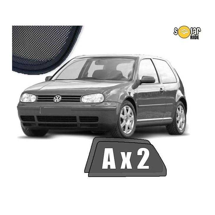 Cortinillas parasoles solares a medida para VW Volkswagen Golf 4 (3 Puertas) (1997-2006)