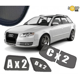 UV Car Shades, Sunshades, Car Window Sun Blinds AUDI A4 AVANT / ESTATE B7 (2004-2008)