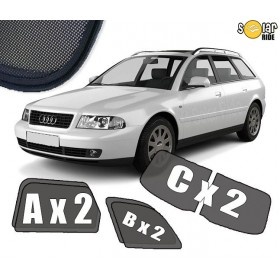 UV Car Shades, Sunshades, Car Window Sun Blinds AUDI A4 AVANT / ESTATE B5 (1996-2001)