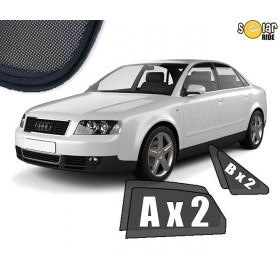 UV Car Shades, Sunshades, Car Window Sun Blinds AUDI A4 SEDAN B6 (2001-2004)