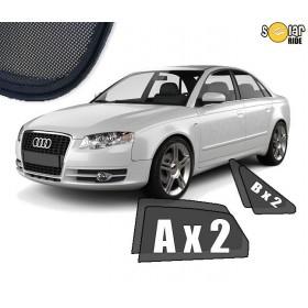 4 Jaluzele pentru geamurile Audi A4 B7 Sedan (2004-2008)