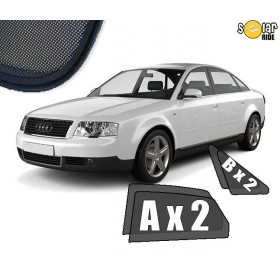 UV Car Shades, Sunshades, Car Window Sun Blinds AUDI A6 C5 SEDAN (1997-2004)
