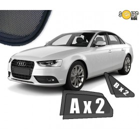 UV Car Shades, Sunshades, Car Window Sun Blinds AUDI A4 B8 SEDAN (2008-)