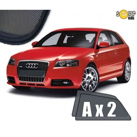 UV Car Shades, Sunshades, Car Window Sun Blinds AUDI A3 8P (2003) 3dr