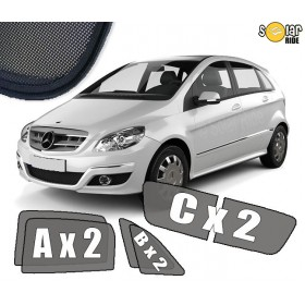 UV Car Shades, Sunshades, Car Window Sun Blinds Mercedes-Benz W245 B-Class