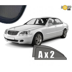 UV Car Shades, Sunshades, Car Window Sun Blinds Mercedes-Benz W220 S-Class