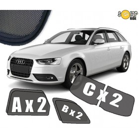 UV Car Shades, Sunshades, Car Window Sun Blinds AUDI A4 AVANT / ESTATE B8 (2008-)