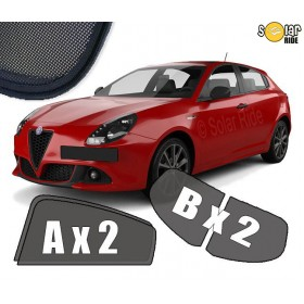 Cortinillas parasoles solares a medida para Alfa Romeo Giulietta (2010-)