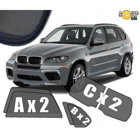 UV Car Shades, Sunshades, Car Window Sun Blinds BMW X5 E70 (2006-2013)
