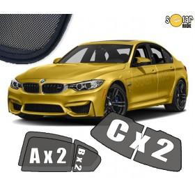 UV Car Shades, Sunshades, Car Window Sun Blinds BMW 3 F30  (2011-)