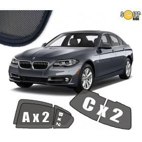 UV Car Shades, Sunshades, Car Window Sun Blinds BMW 5 F10  (2010-)