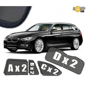 UV Car Shades, Sunshades, Car Window Sun Blinds BMW F31 Touring