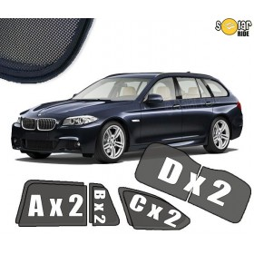 UV Car Shades, Sunshades, Car Window Sun Blinds BMW F11 Touring  (2010-2017)