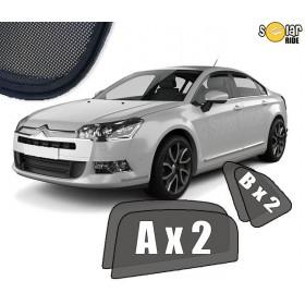 UV Car Shades, Sunshades, Car Window Sun Blinds CITROEN C5 II Sedan