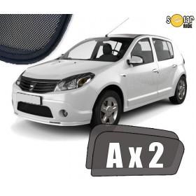 UV Car Shades, Sunshades, Car Window Sun Blinds Dacia Sandero I  2008-2012