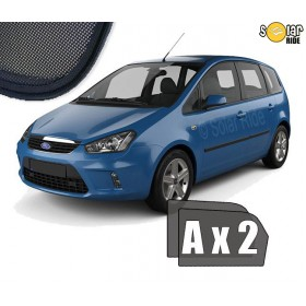 UV Car Shades, Sunshades, Car Window Sun Blinds FORD C-MAX (2003-2010)