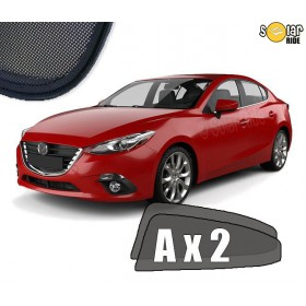 UV Car Shades, Sunshades, Car Window Sun Blinds Mazda 3 III Sedan 2013-