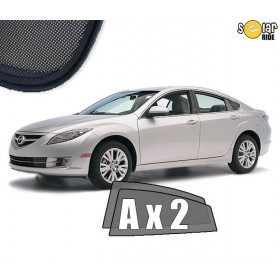 UV Car Shades, Sunshades, Car Window Sun Blinds Mazda 6 Sedan GH 2007-2012