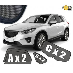 UV Car Shades, Sunshades, Car Window Sun Blinds Mazda CX-5 (2012-2016)
