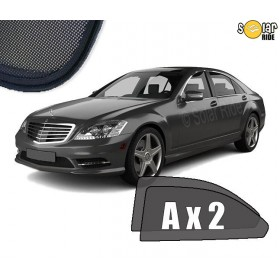 UV Car Shades, Sunshades, Car Window Sun Blinds Mercedes-Benz W221 S-Class