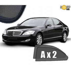 UV Car Shades, Sunshades, Car Window Sun Blinds Mercedes-Benz W221 S-Class Long