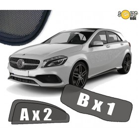 UV Car Shades, Sunshades, Car Window Sun Blinds Mercedes-Benz W176 A-Class