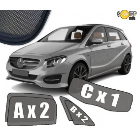 UV Car Shades, Sunshades, Car Window Sun Blinds Mercedes-Benz W246 B-Class
