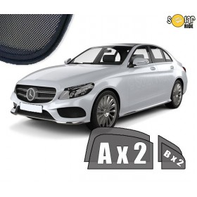 UV Car Shades, Sunshades, Car Window Sun Blinds Mercedes-Benz W205 C-Class
