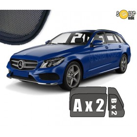 Sun Shades Mercedes-Benz S205 W205 Estate C-Class (2014-)