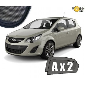 UV Car Shades, Sunshades, Car Window Sun Blinds Opel VAUXHALL Corsa D