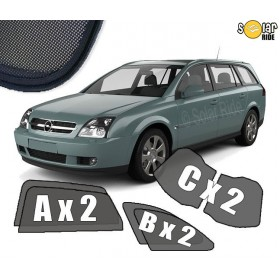 UV Car Shades, Sunshades, Car Window Sun Blinds Opel VAUXHALL Vectra C (2003-2008) Estate