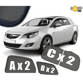 UV Car Shades, Sunshades, Car Window Sun Blinds Opel VAUXHALL ASTRA J Estate / Sports Tourer