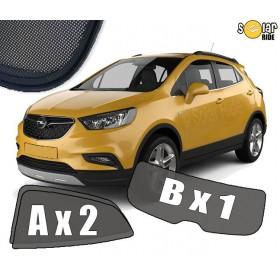 UV Car Shades, Sunshades, Car Window Sun Blinds Opel Mokka / Mokka X  (2012-)