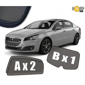 UV Car Shades, Sunshades, Car Window Sun Blinds Peugeot 508 Saloon 4-door (2010–2018)