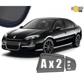 UV Car Shades, Sunshades, Car Window Sun Blinds Renault Laguna III Hatchback / Liftback 2007-2015