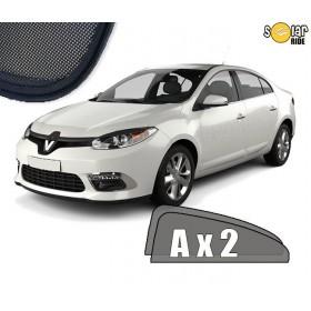 UV Car Shades, Sunshades, Car Window Sun Blinds Renault Fluence 2009-2016