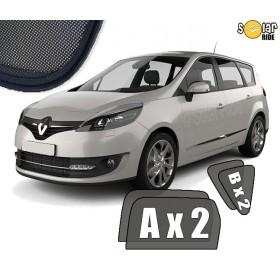 UV Car Shades, Sunshades, Car Window Sun Blinds Renault Grand Scenic III