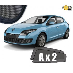 UV Car Shades, Sunshades, Car Window Sun Blinds Renault Mégane 3 Hatchback 2008-2015