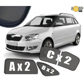 Sun Shades Skoda Fabia II (2007-2014) Estate