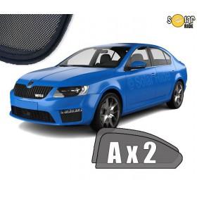 UV Car Shades, Sunshades, Car Window Sun Blinds Skoda Octavia III Liftaback