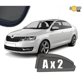 UV Car Shades, Sunshades, Car Window Sun Blinds Skoda Rapid