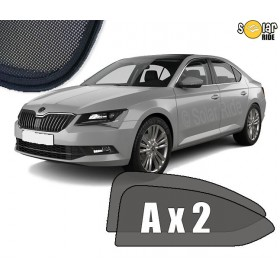 UV Car Shades, Sunshades, Car Window Sun Blinds Skoda Superb III