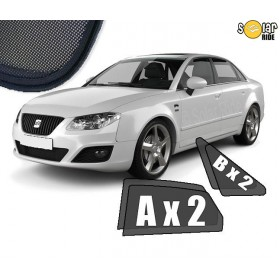 UV Car Shades, Sunshades, Car Window Sun Blinds Seat Exeo Sedan