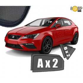 UV Car Shades, Sunshades, Car Window Sun Blinds Seat Leon 3 III (2012-)