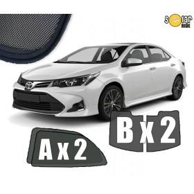 Cortinillas Parasoles Pantallas solares a medida Toyota Corolla XI (E160) 2013-2019