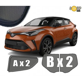 UV Car Shades, Sunshades, Car Window Sun BlindsToyota C-HR 2016-