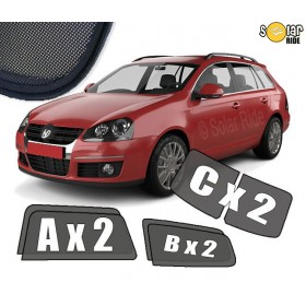UV Car Shades, Sunshades, Car Window Sun Blinds VW Volkswagen Golf 5 Estate
