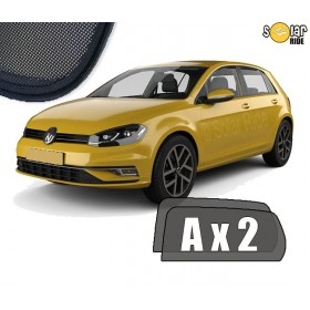 UV Car Shades, Sunshades, Car Window Sun Blinds VW Volkswagen GOLF 7