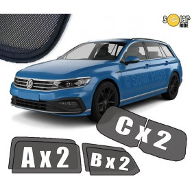 UV Car Shades, Sunshades, Car Window Sun Blinds VW Volkswagen Passat B8 Estate (2014-)